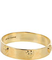 Betsey Johnson - Status Heart Bangle Bracelet