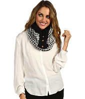 MICHAEL Michael Kors - MK 3 Button Neck Warmer Infinity Snood