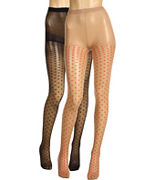 Anna Sui - Sheer Dots Tights 2 Pack