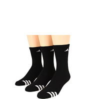 adidas Kids - Striped 3-Pack Crew (Toddler/Little Kid/Big Kid/Adult)