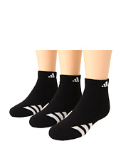 adidas Kids - Youth Striped 3-Pack Low Cut (Youth/Junior)