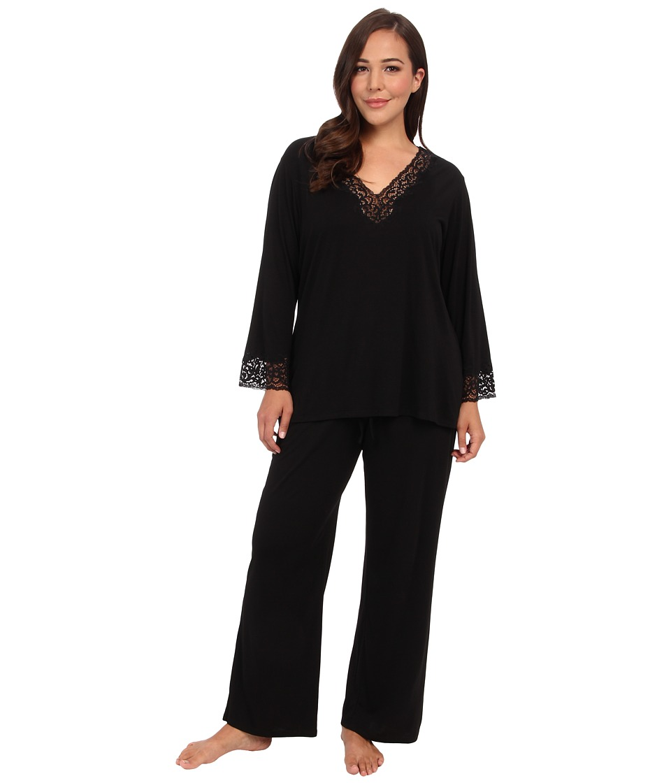 Natori - Lhasa PJ (Black) Womens Pajama Sets