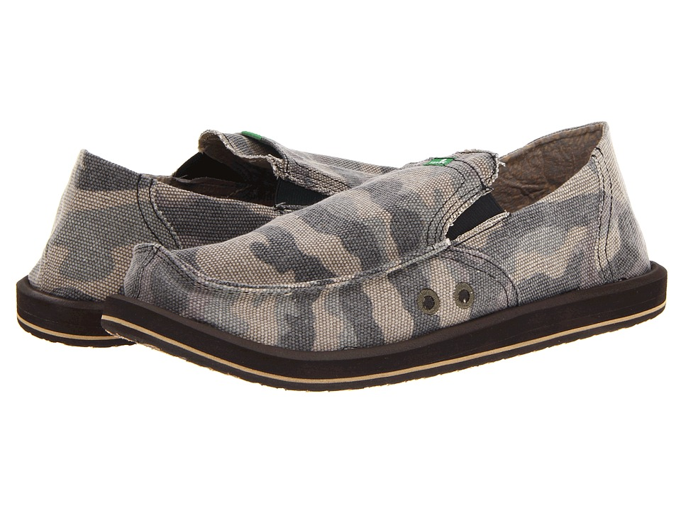 Sanuk - Pick Pocket (Camo) Men