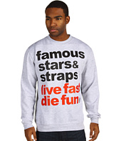 Famous Stars & Straps - Simple Fleece Crewneck