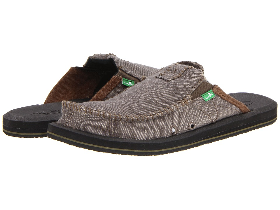 Sanuk - You Got My Back II (Army) Mens Slip on  Shoes