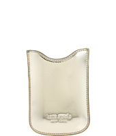 Cheap Kate Spade New York Leather Sleeve Phone Case Gold Red