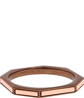 Vince Camuto - Chocolate and Rose Gold Octogonal Bangle