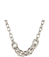Vince Camuto - Silver and Crystal Round Link Toggle Necklace