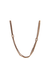 Vince Camuto - Chocolate and Crystal Multi Strand Necklace