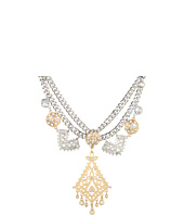 Jessica Simpson - Baroque Chic Two Tone Statement Necklace