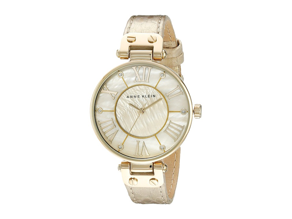 Anne Klein - AK-1012GMGD (Gold) Analog Watches
