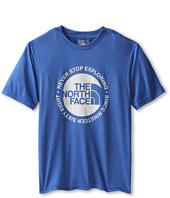 The North Face Kids - Boys' Circle Logo Reaxion Tee (Little Kids/Big Kids)