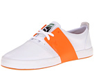PUMA - El Ace 3 L (White/Golden Poppy) - Footwear