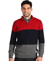 Nautica - Colorblock 1/4 Zip Sweater
