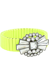 BCBGeneration - Le Piaget Neon and Crystals Stretch Bracelet