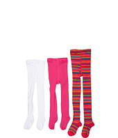 Jefferies Socks - Multi Stripe Tight/Seamless Organic Tight Three Pack (Infant/Toddler/Little Kids/Big Kids)