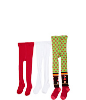 Jefferies Socks - Blossom Tight/Seamless Organic Tight Three Pack (Infant/Toddler/Little Kids)