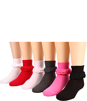 Jefferies Socks - Misty 6-Pack (Toddler/Little Kid/Big Kid)