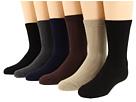 Jefferies Socks Rib Crew Sock Six Pair Pack (Infant/Toddler/Little Kid/Big Kid/Adult)