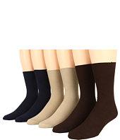 Jefferies Socks - Non Binding Dress Six Pack (Adult)