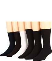 Jefferies Socks - Acrylic Dress Crew Six-Pack (Adult)