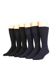 Jefferies Socks - Half Cushion Crew Six-Pack (Adult)