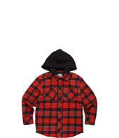 Fox Kids - Radcliff L/S Hoodie Flannel (Little Kids/Big Kids)