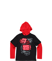 Fox Kids - Spliced Up 2Fer Hoodie (Big Kids)