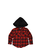 Fox Kids - Radcliff L/S Hoodie Flannel (Little Kids)