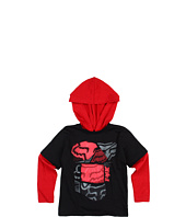 Fox Kids - Spliced Up 2Fer Hoodie (Little Kids)