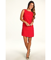 ABS Allen Schwartz - Sleeveless Shift Dress With Back Zipper Detail