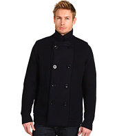 Vince - Sherpa Lined Wool Double Breasted Peacoat