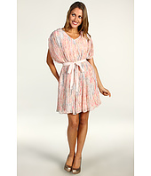 Jessica Simpson - V-Neck Gathered Drape Sleeve Dress