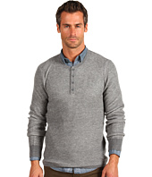Vince - Plaited Thermal Long Sleeve Henley