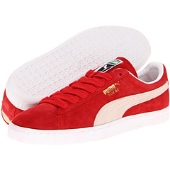 Suede Classic (High Risk Red/White) Shoes