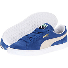 Suede Classic (Olympian Blue/White) Shoes