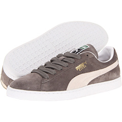 Suede Classic (Steeple Gray/White) Shoes