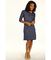 Allen Allen - Stripe Tee Shirt Dress