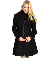 Jessica Simpson - Wool Boucle Bow Front Coat