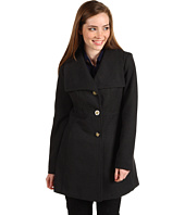 Jessica Simpson - Faux Wool Wing Collar Coat