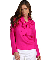 See by Chloe - L/S Neck Tie Button Up Blouse