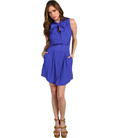 See by Chloe - S/L Neck Tie Waist Intake Dress