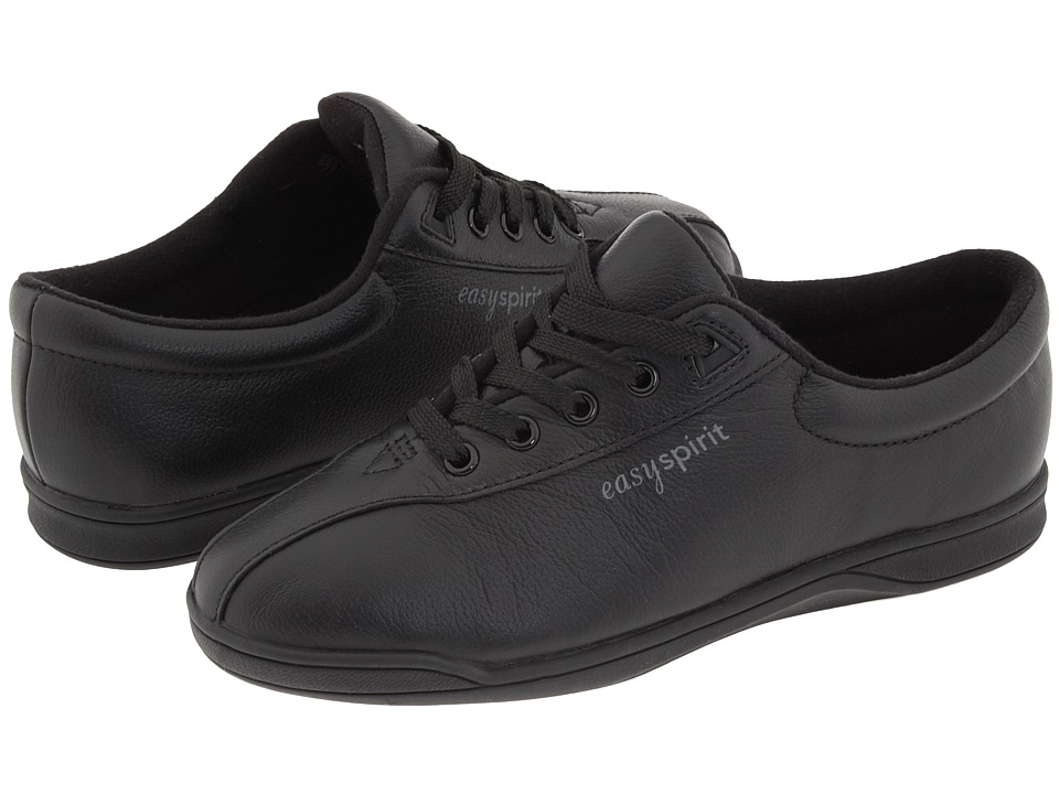Easy Spirit - AP1 (Black) Womens Lace up casual Shoes