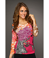 NIC+ZOE - Tropical Deco Tropical Print Top