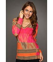 NIC+ZOE - Tropical Deco Coral Reef Top