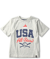 adidas Kids - Strong Division Tee (Toddler/Little Kids)