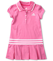 adidas Kids - Pretty Pleats Polo Dress (Toddler/Little Kids)