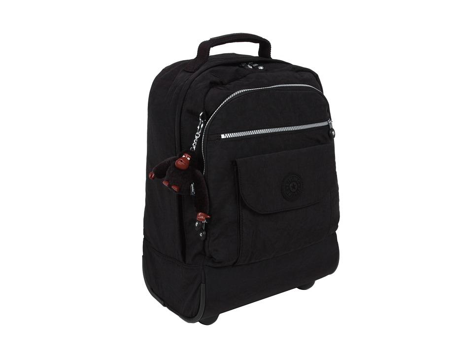 Kipling - Sanaa Wheeled Backpack (Black) Backpack Bags