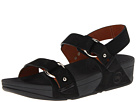 FitFlop - Via Bar Sandal (Black) Sandal