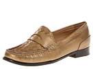 Cole Haan - Laurel Woven Moccasin (Bronze Metallic) - Footwear